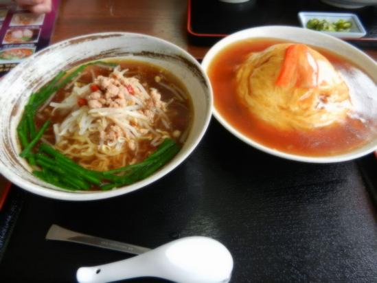 台湾ラーメン+天津飯+(2)