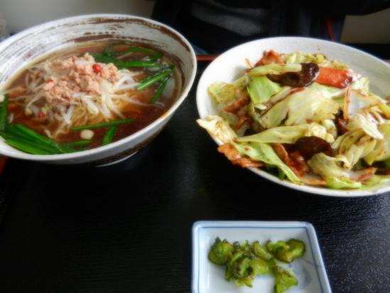 台湾ラーメン+回鍋飯+(2)