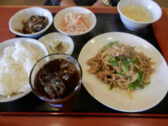 チンジャオロース定食+(1)