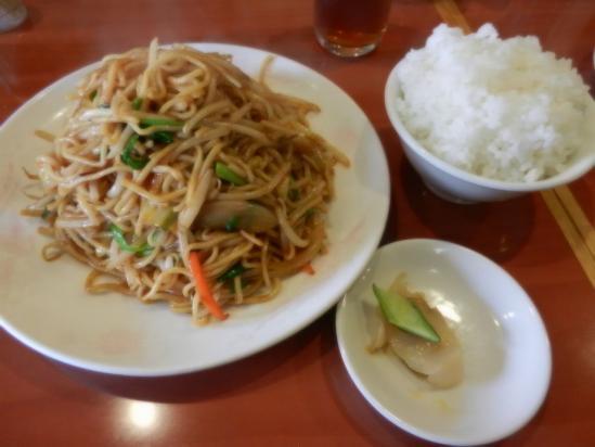 台湾風焼きそばランチ+(2)