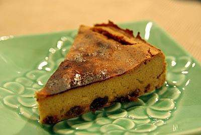 きな粉のチーズケーキ