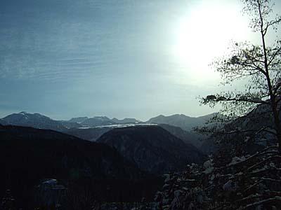 林道から弥陀ヶ原