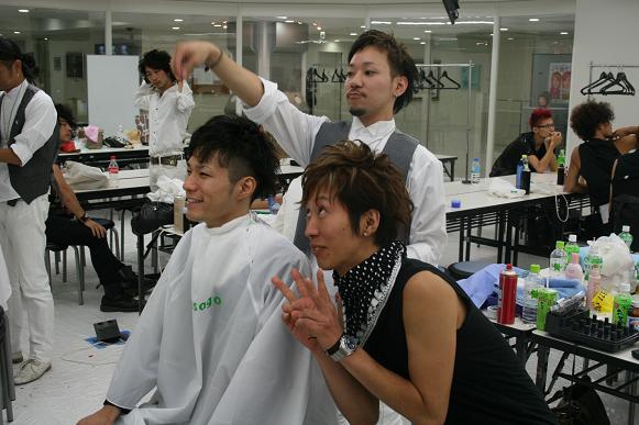 女セミナー&BW hair show 046