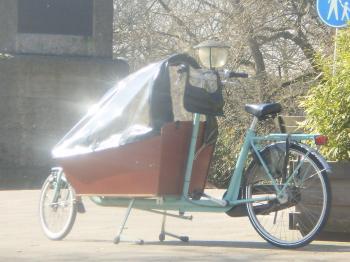 荷台自転車?