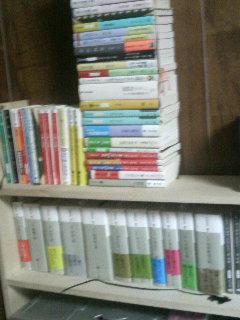 ますん家本棚。