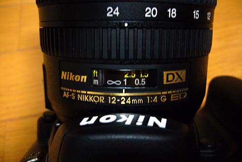 AF-S DX Zoom-Nikkor ED 12-24mm F4G(IF)3