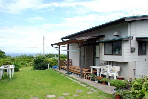 角島旅館からの眺め