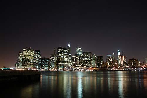 マンハッタンの夜景2