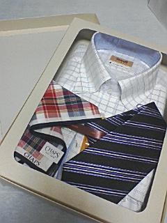 シャツ&ネクタイ