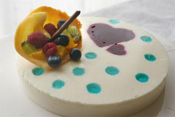 「雨に唄えば」なケーキ♪
