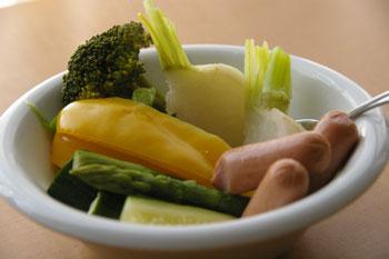 ボイル野菜?!