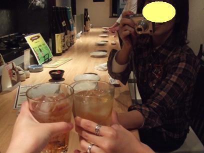 飲めなくても乾杯の参加は忘れずに(^^)b