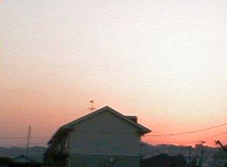 朝焼け 2009.5.20