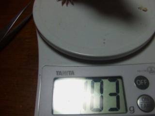 体重測定 060604