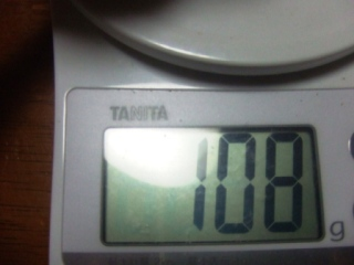体重測定 060618