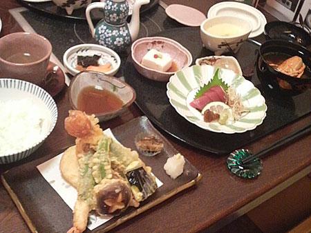 天ぷら御膳