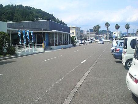港の駅めいつの外観