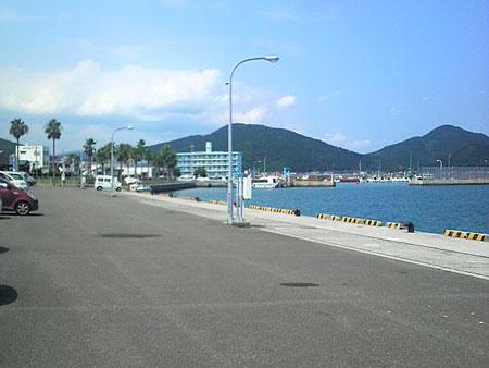 目井津港の風景
