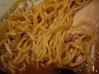 焙煎ラーメン みのや 焙煎あわせ味噌(麺)