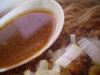 八千ラーメン 激辛ラーメン(スープ)