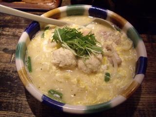 鶏麺 ばば 鶏麺