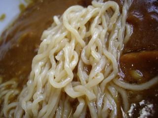 大沢食堂 カレーラーメン(麺)