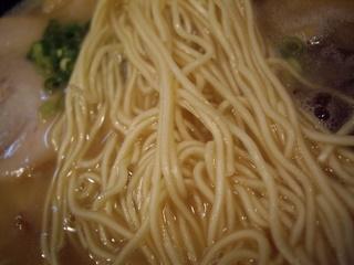 博多拉麺 わ蔵 板橋本店 博多豚骨らーめん(麺)