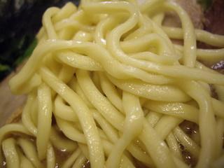 横浜家系ラーメン ラーメン家 ややや ラーメン(麺)