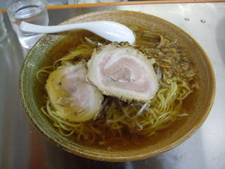 覆麺 覆面(正油)