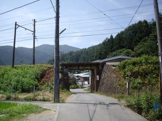 たかちゃんうどん への道③