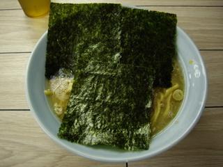 らすた代々木支店 ラーメン(海苔)