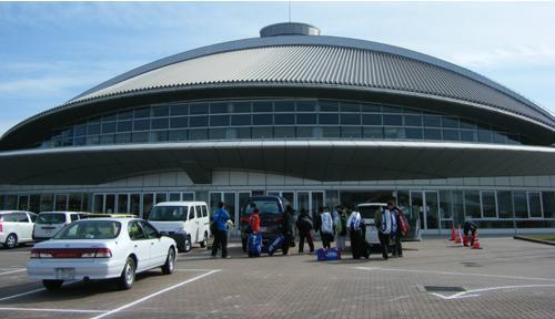 竹平体育館