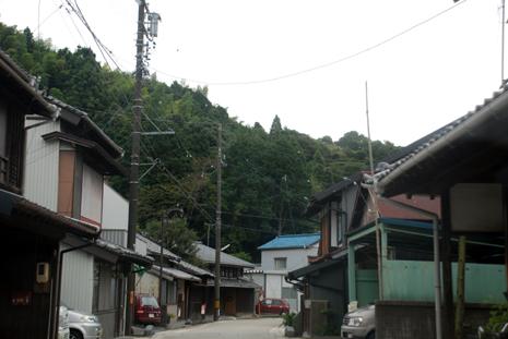 岡部宿旧東海道