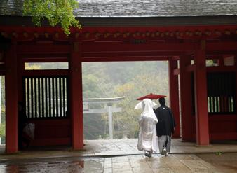 香取神宮の結婚式
