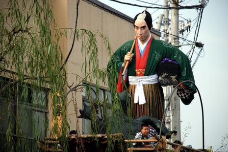 佐原秋祭り浦島太郎