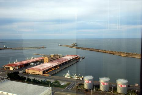 銚子ポートタワーからの眺め