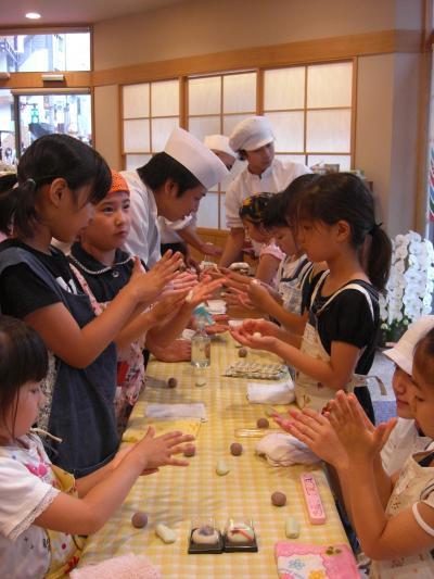 090613小学生和菓子教室1