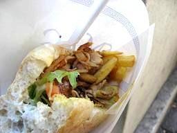 ギリシャ風サンドイッチ