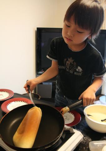 2009-7-21-ホットケーキ