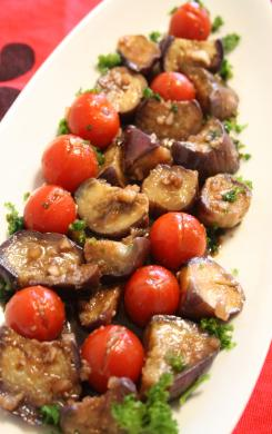 2009-8-21-茄子とトマト