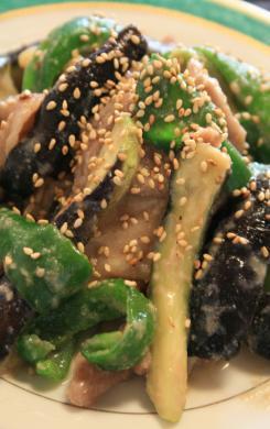 2009-9-7-茄子炒め