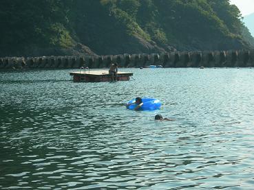 日本海放流