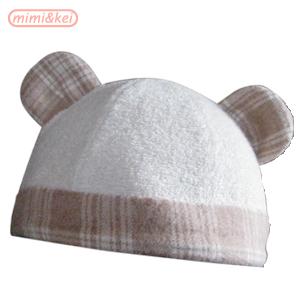ベビーくま帽子