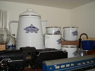 コールマンのコーヒーセット