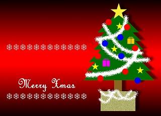 ちょっと早いですが・・「 メリークリスマス !! 」