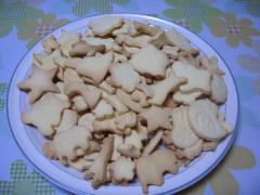 型抜きクッキー