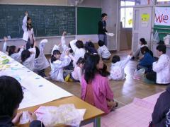 ◆朝ミーティング・まゆ.JPG
