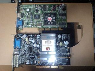 上・初代、下・9600Pro