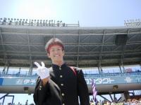 新居浜東高校の応援団長