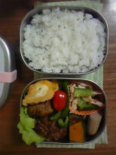 ある日のお弁当1